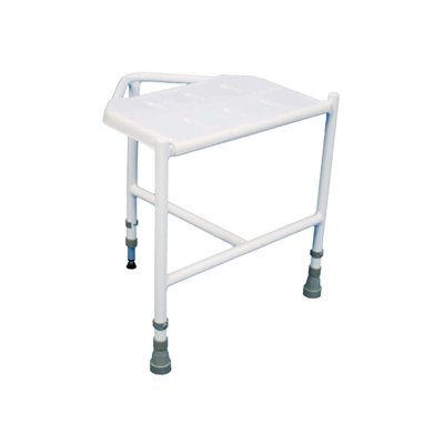 Pembury Height Adjustable Corner Shower Stool