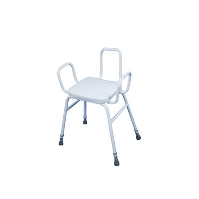 Malling Perching Stool with Back and Arms
