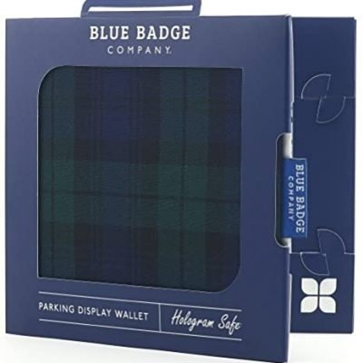 Blue Badge Permit Cover- Blackwatch