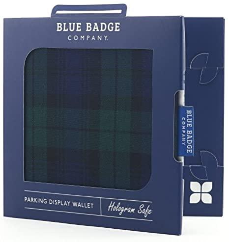 Blue Badge Permit Cover- Blackwatch