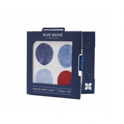 Blue Badge Permit Cover- Helix Spots