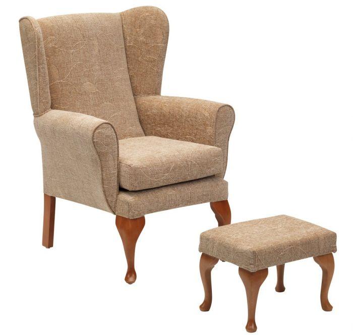 Restwell Queen Anne Fireside Chair