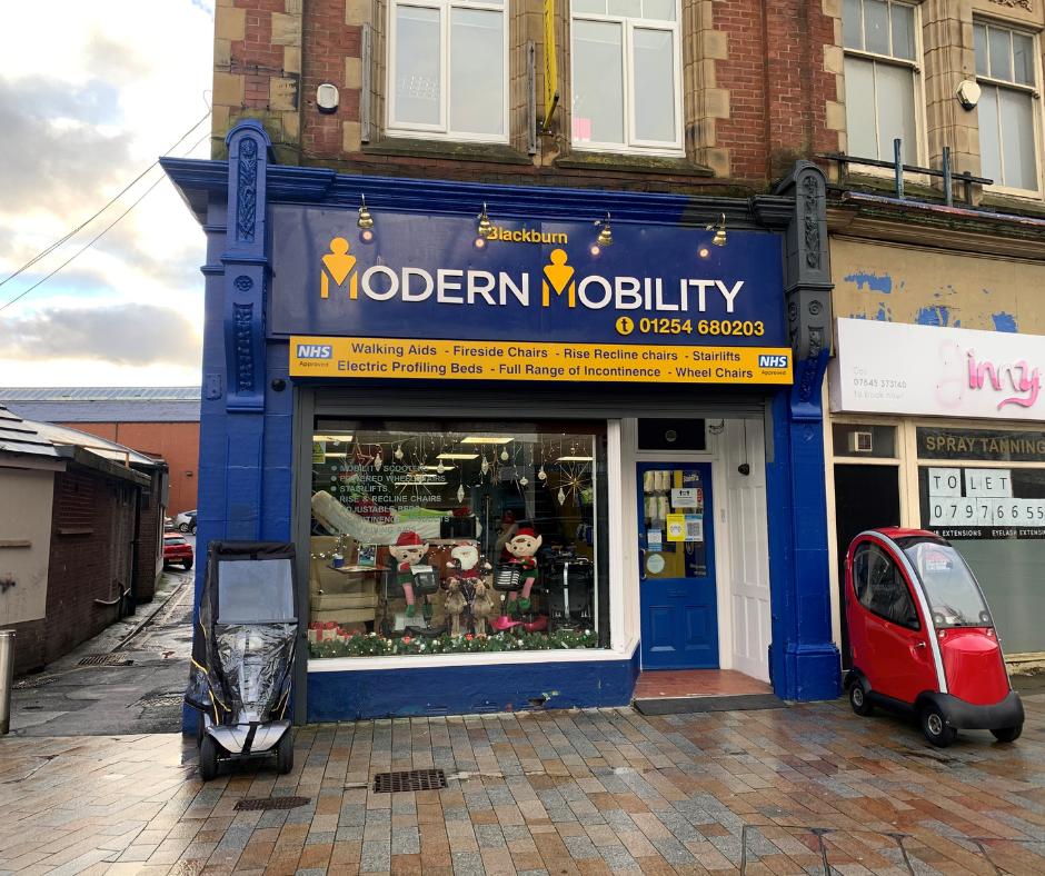 Modern Mobility Blackburn Store front