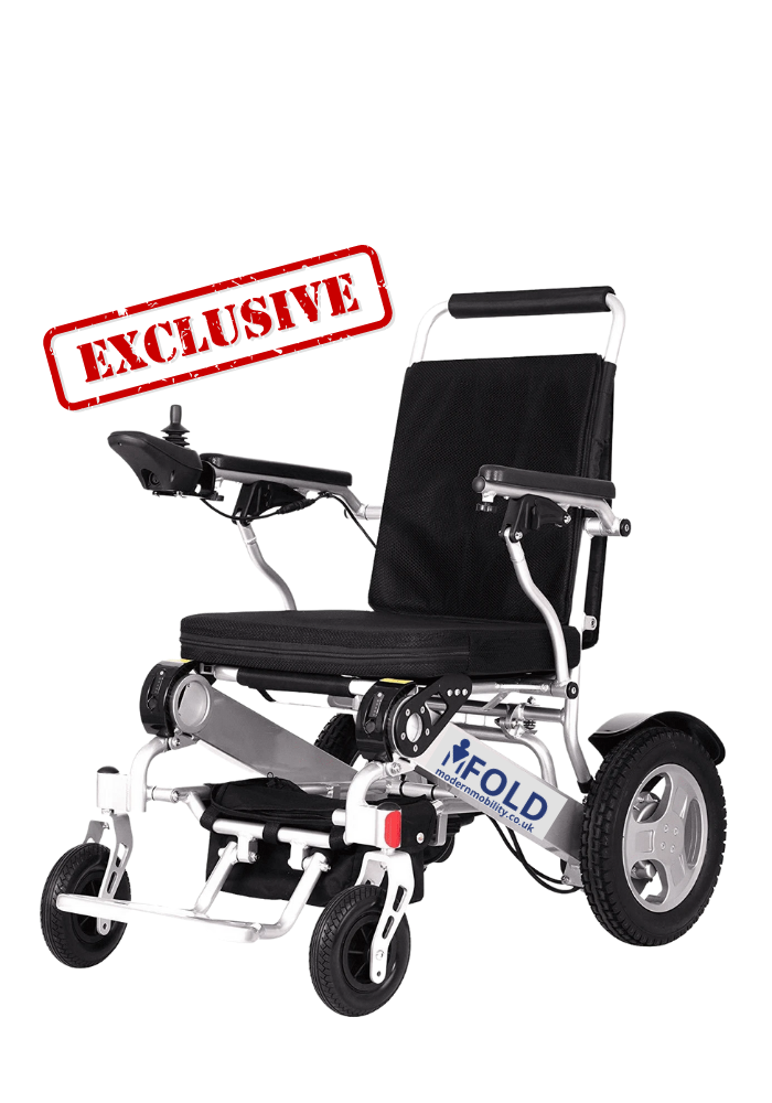 M fold electric wheelchair