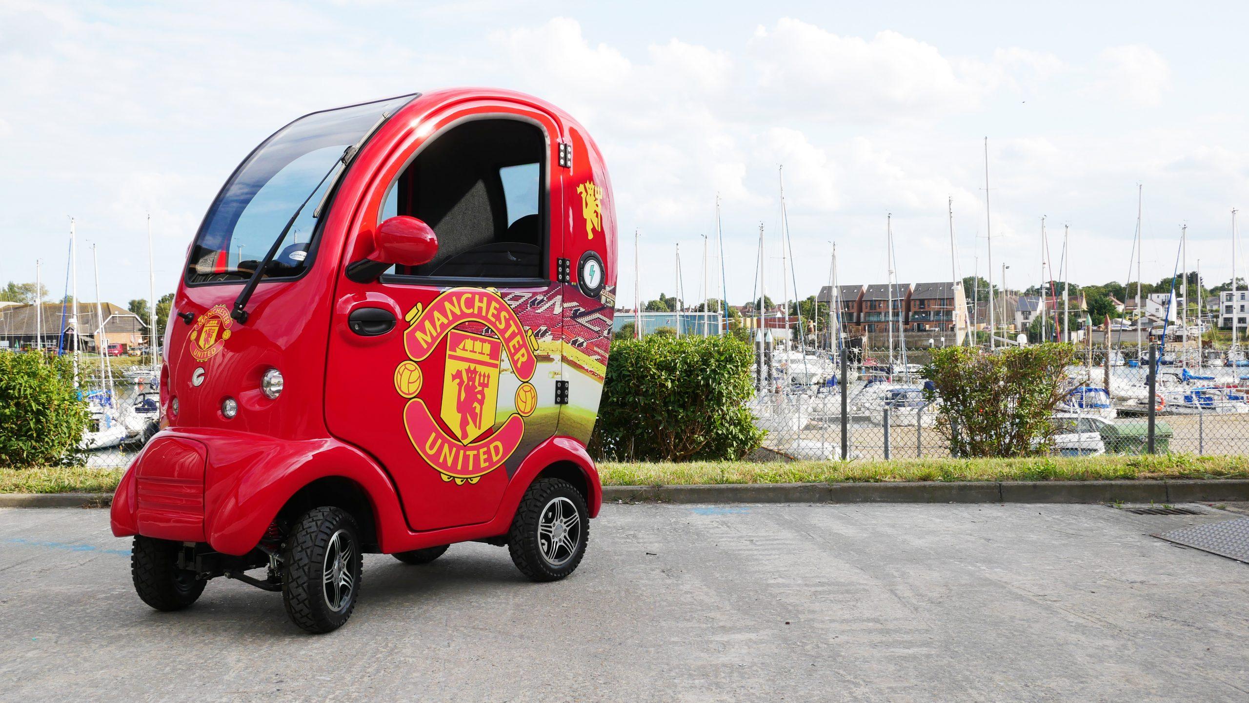 Manchester United Cabin Car