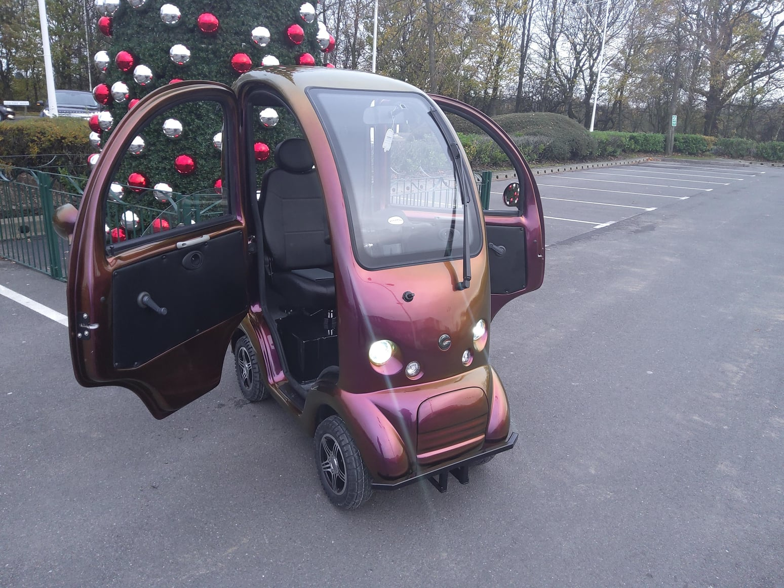 customised cabin car mobility scooter