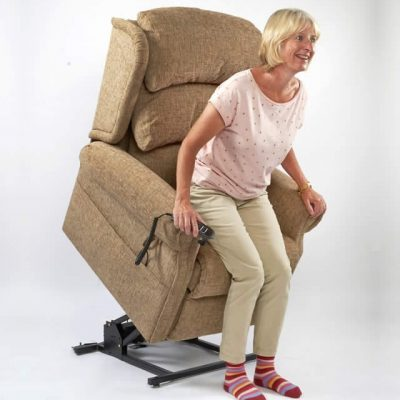 Brecon - Waterfall Back - Riser Recliner