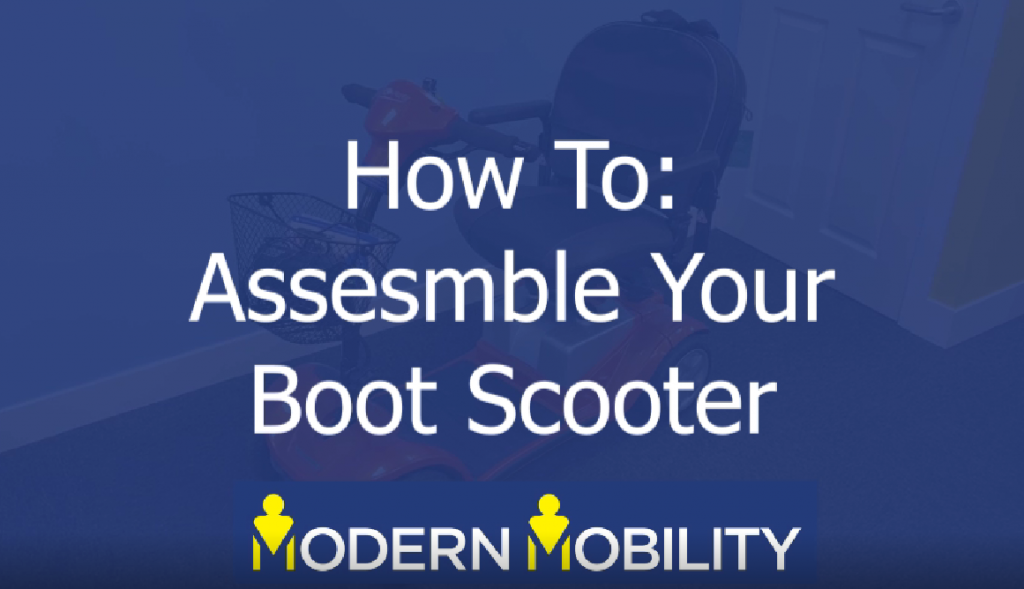 How To Assemble Your Mobility Scooter